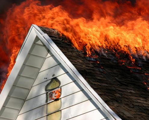 Haushaltsversicherung gegen Brand