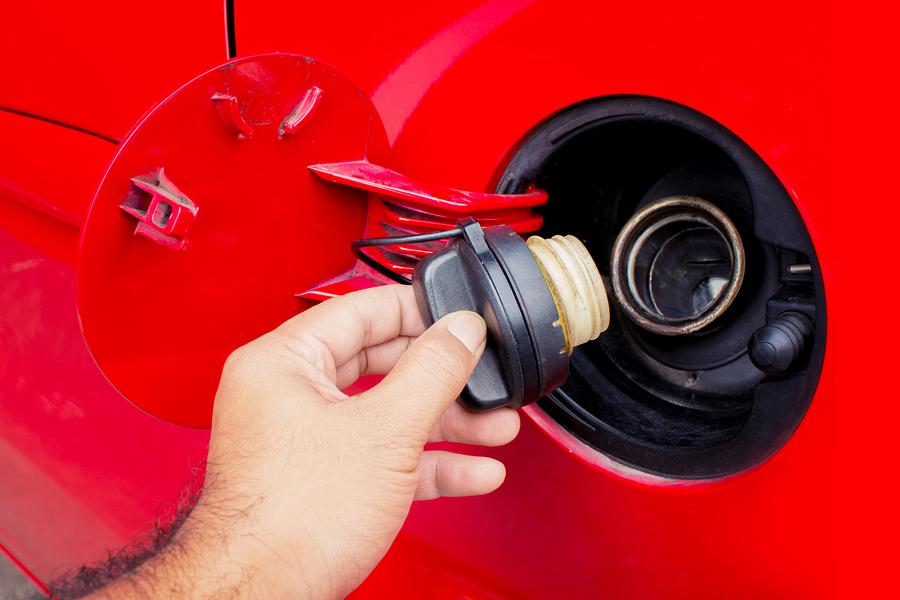 Tankdeckel beim Auto