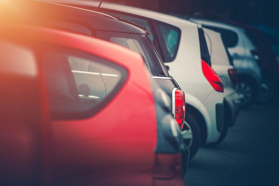 Pendler-Autos