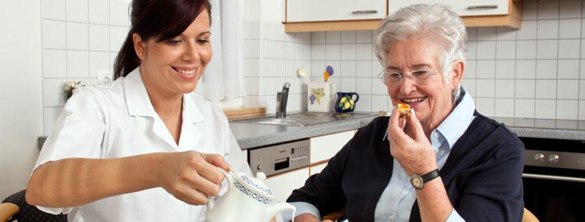 Pflegekräfte für Heimpflege