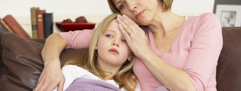 Pflegeurlaub bei kranken Kindern