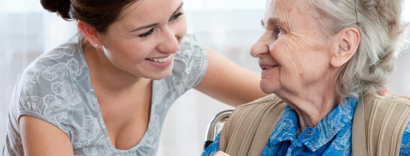 Pflegekraft daheim